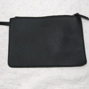 Zara Basic Collection Black Mini Wristlet Bag